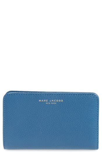 MARC JACOBS Gotham Compact Leather Wallet