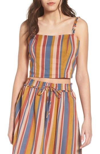 Stripe Crop Top by June & Hudson