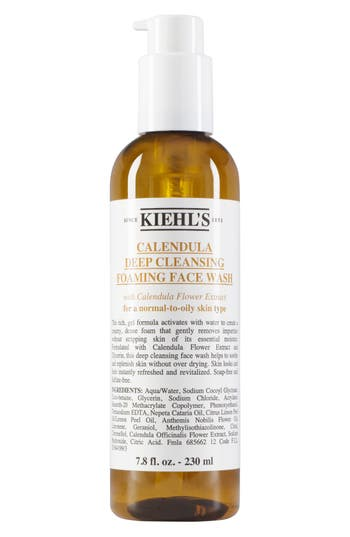 Alternate Image 1 Selected - Kiehl's Since 1851 Calendula Deep Cleansing Foaming Face Wash for Normal-to-Oily Skin