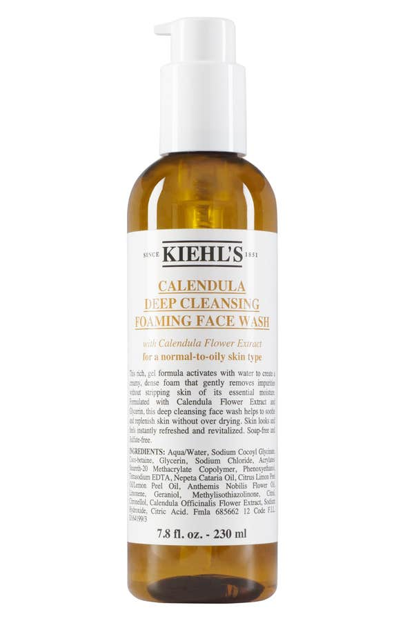 Calendula Deep Cleansing Foaming Face Wash for Normal-to-Oily Ski