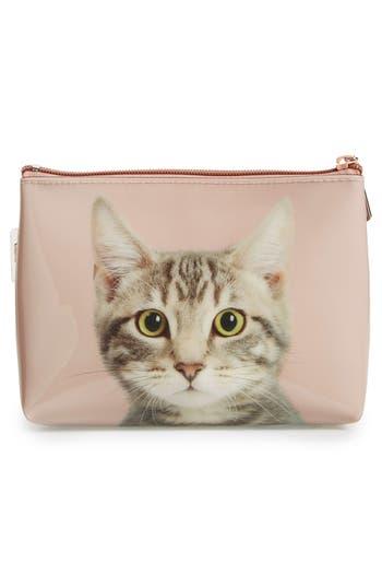 Alternate Image 2  - Catseye London 'Kitty' Small Cosmetics Bag