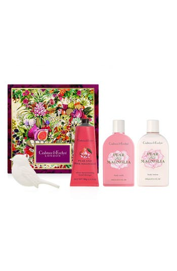 Pear & Pink Magnolia Deluxe Gift Set,                             Main thumbnail 1, color,                             No Color