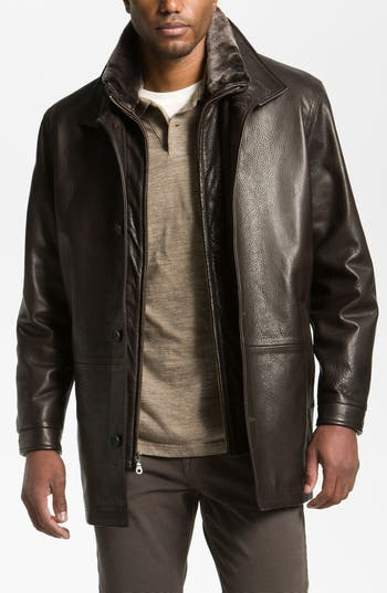 Remy Leather Calfskin Leather Jacket Nordstrom