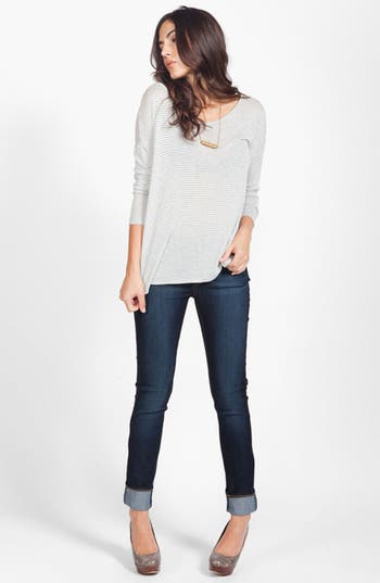 Alternate Image 1 Selected - Soft Joie Top & Paige Jeans