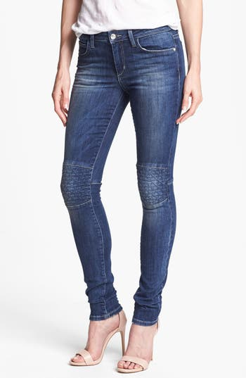 Alternate Image 1 Selected - Joe's 'Quilted Street' Skinny Jeans (Laurel)