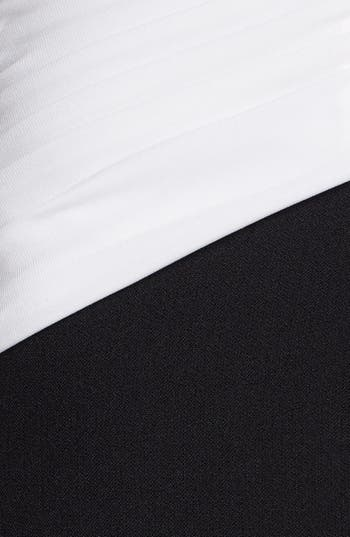 Alternate Image 3  - Adrianna Papell Draped Neck Sheath Dress