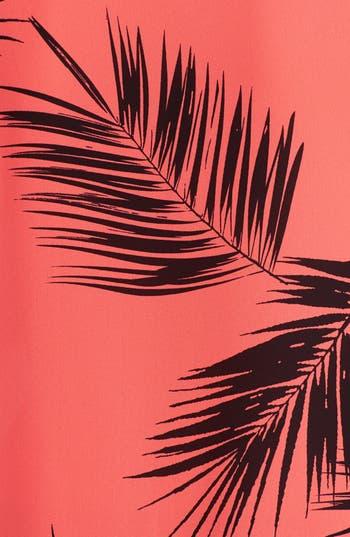Alternate Image 3  - MOD.lusive Palm Print Woven Tank