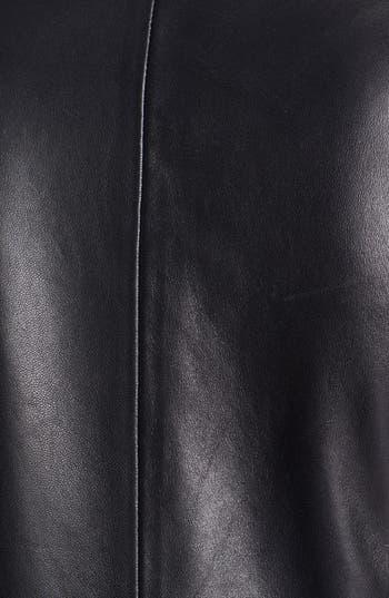 Alternate Image 4  - B and K by BUCHANAN & KANG Leather Peplum Jacket