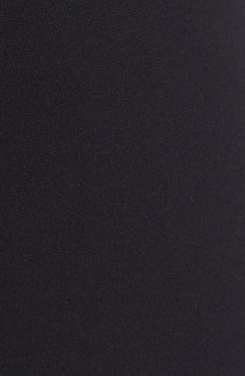Alternate Image 3  - B and K by BUCHANAN & KANG Leather Trim Leggings
