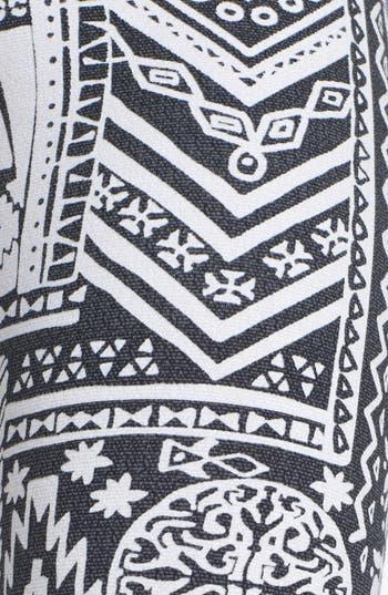 Alternate Image 3  - Mimi Chica Print Leggings (Juniors)