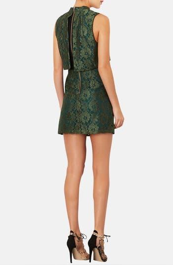 Alternate Image 2  - Topshop Retro Lace Dress