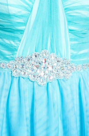 Alternate Image 3  - As U Wish 'Wendy' Embellished Ombré Fit & Flare Dress (Juniors)