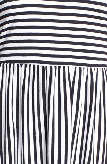 Alternate Image 4  - Billabong 'Early Sunshine' Stripe Skater Dress (Juniors)