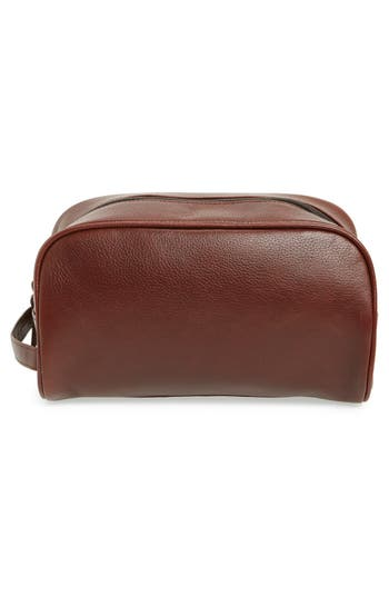 Alternate Image 3  - Barbour Leather Travel Kit