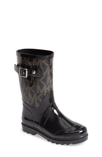 Michael Michael Kors Daisy Logo Rain Boot Little Kid