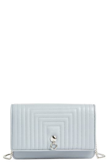 Fendi Quilted Leather Wallet on a Chain