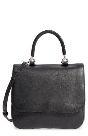 Max Mara Top Handle Leather Satchel