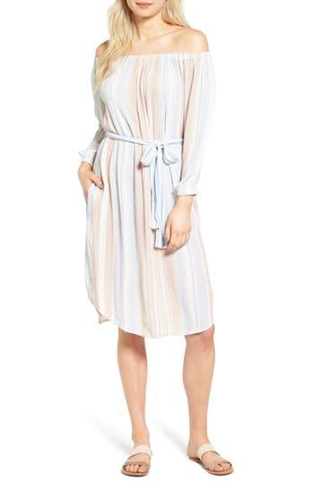 AG Michelle Off the Shoulder Cotton Dress