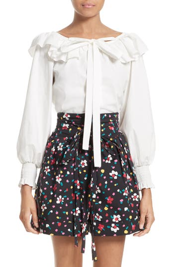 MARC JACOBS Ruffle Cotton ..