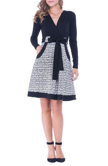 Olian Ponte Maternity Dress