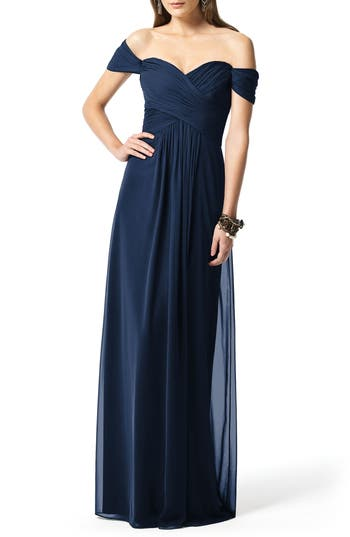 Dessy Collection Ruched Chiffo..