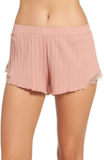 skin Ribbed Shorts
