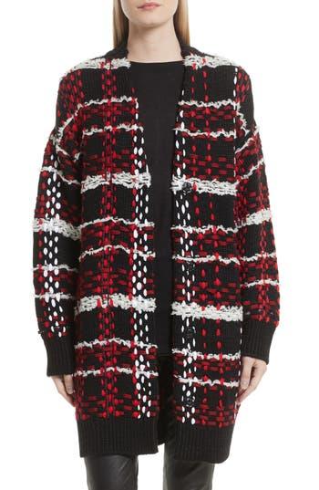 rag & bone Dawson Plaid Knit Coat