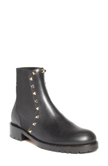 VALENTINO GARAVANI Beatle Rockstud Boot (Women)