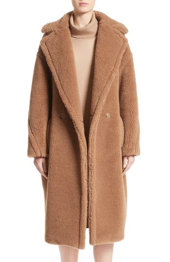 max mara aurelia camel hair silk coat nordstrom. Black Bedroom Furniture Sets. Home Design Ideas
