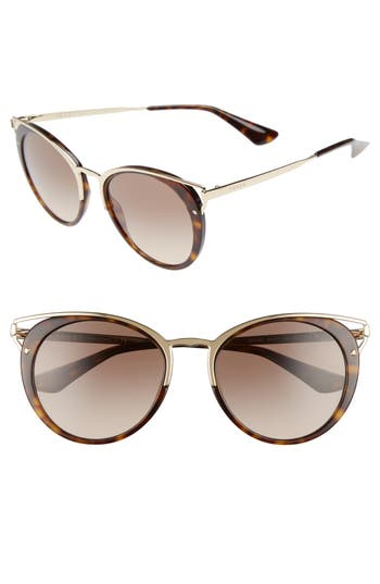 d906e2fd229c0 Prada 54mm Gradient Cat Eye Sunglasses
