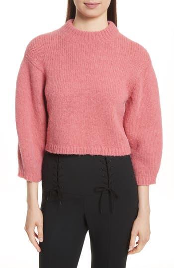 Tibi Cozette Cropped Pullover