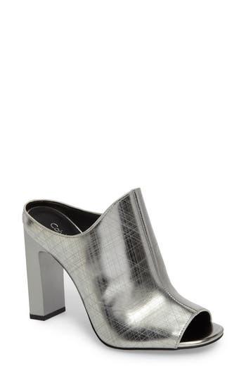 Calvin Klein Maera Open Toe Mule (Women)