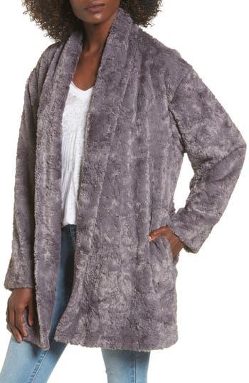 ASTR the Label Skylar Faux Fur Jacket