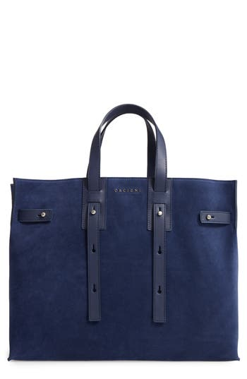 Orciani Petra Suede & Leather Tote