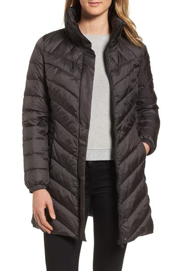 Bernardo Jacquard Dot Coat
