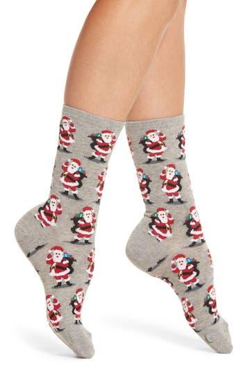 Hot Sox Santa with Present..