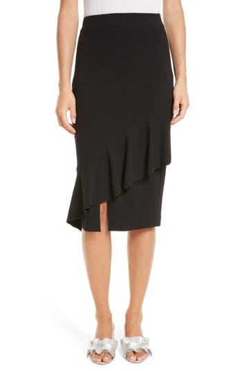 Tracy Reese Three-Vent Skirt