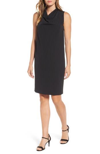 Anne Klein Pinstripe Shift Dress