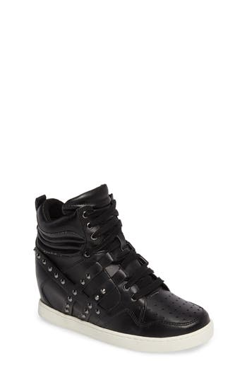 boogie chic studded high top sneaker