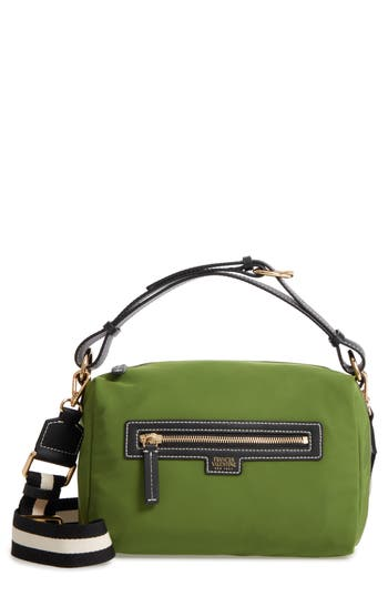 Frances Valentine Small Flannery Nylon Satchel
