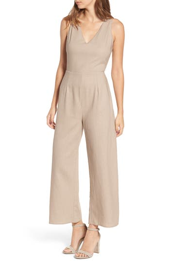 Leith Crop Wide Leg Jumpsuit