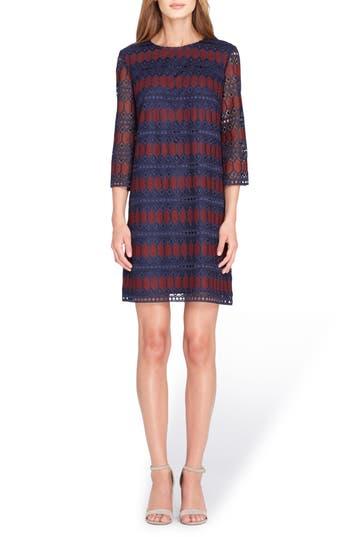 Tahari Lace Shift Dress