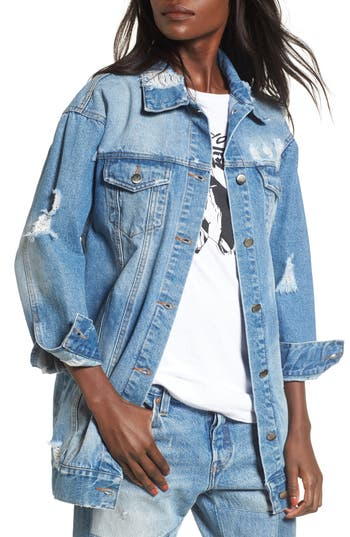 Elodie Decon Longline Denim Jacket