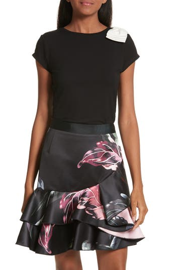 Ted Baker London Tuline Bow Detail Tee