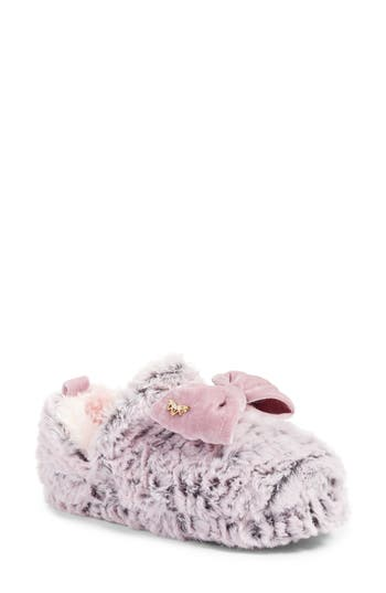 Pretty You London Faux Fur Slipper