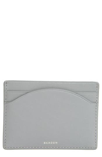 Skagen Leather Card Case