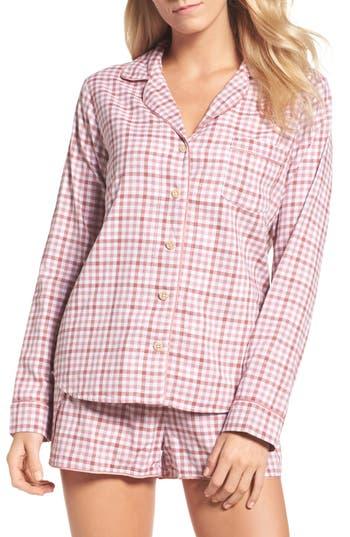 UGG Milo Check Short Pajamas