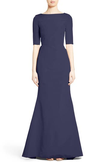 Carolina Herrera Draped V-..