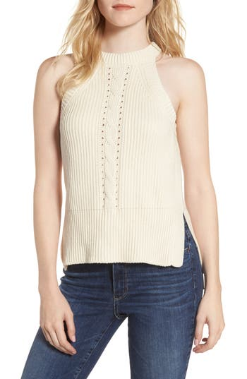 Sincerely Jules Sleeveless Cable Sweater