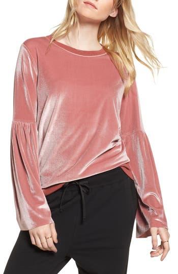 Treasure & Bond Velour Sweatshirt